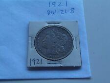 1921  Morgan  silver dollar   (DW-21-8)