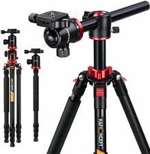 K&F Concept Professional Aluminium Travel Tripod&Ball Head for Canon DSLR Camera