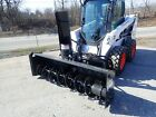 NEW BOBCAT SB200 78' SNOWBLOWER FOR SKID STEERS, HYD CHUTE, 2 STAGE,QUICK ATTACH