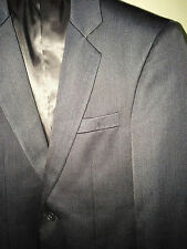 Wall Street Men's Slim Fit Suit & Slacks (Charcoal Gray) - As Good As Brand New