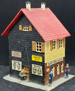 Faller No. 93 JAIL HOUSE Ho Scale, GERMAN VINTAGE. DECORATED