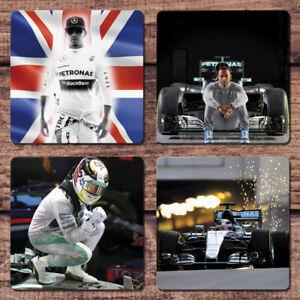 Lewis Hamilton Coaster Set of 4 Mercedes Petronas Formula One F1 British GP Car