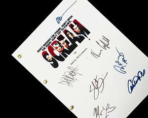 Scream Film Movie Script Screenplay Signatures Autograph Reprint David Arquette