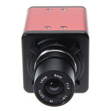 14MP Digital Industrial Microscope Camera BNC AV TV Video Zoom C Mount Lens