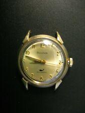 Vintage Bulova 10K RGP Automatic Whale Men's Watch