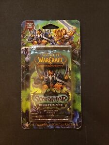 World Of Warcraft Scourgewar Wrathgate, Unopened, Blister Booster Pack
