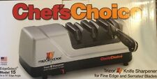 "Chef""s Choice Model 15 Trizor XV EdgeSelect Electric Knife Sharpner - Brand New"