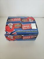 Lot of 201 Cards of Upper Deck 2015-16 and 2016-17 Hockey Series one - Open Box