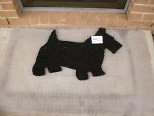 Scotty Dog Natural Coir on PVC Backing Door Mat