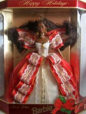 1997 Happy Holidays Christmas Barbie Doll Special Edition African American NRFB