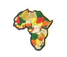 Africa Continent Iron-On Patch