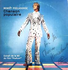Benoît Poelvoorde CD Single Chanson Populaire - Promo - Dédicacé - France (VG/VG