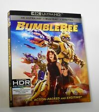 *NO DISCS!* Bumblebee 4K Blu Ray New slipcover  *SLIPCOVER ONLY!*