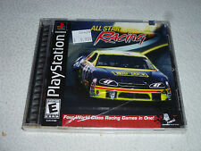 FACTORY SEALED PLAYSTATION PS1 GAME ALL STAR RACING NFS BRAND NEW