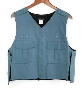 Mocean Medium M Blue Shirt Style Outer Vest Carrier Law Enforcement Security