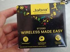 Jabra BT2080 Bluetooth Headset Hands-Free Phone Head Set, New Never been used