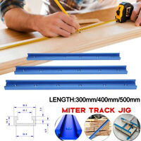 300-500mm T-Track Aluminium T-Slot Miter Jig Kit For Woodworking Router Part