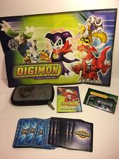 Digimon Digital Monsters 43 Trading Cards & Pokemon Case Gaming Game Players