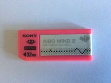 Sony Aibo Ers 7 Official used rare 32mb Mind 2 Pink Memory Stick only Era-Ms032