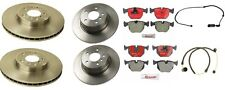 BMW E53 X5 00-03 V8 4.4L Brembo Complete Brake Kit Rotors Pads and Pex Sensors