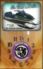Arctic Cat 1976 El Tigre 5000 snowmobile wood clock