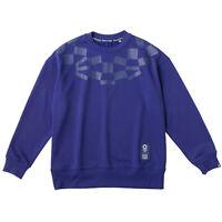 Tokyo Olympics 2020 Olympic Men's Unisex Sweat Shirt Navy Blue ASICS M JAPAN