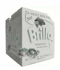 Daniel Arsham x Andy Warhol Brillo Box Blue Edition
