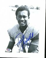 Paul Warfiled Dolphins Browns Hof Signed Psa/dna  8x10 Photo Autograph Authentic