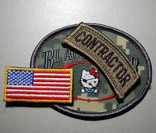 Geheimdienst 3-PC Set: Private Sicherheit Contractor (Camouflage) +Flagge
