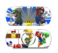 Super Mario Bro Vinyl Decal Skin Sticker for Sony PSP 3000