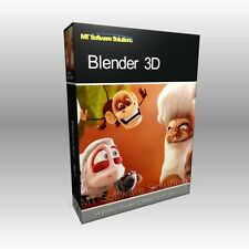 Blender 3D Graphics Design Animation Studio Pro Professional Software