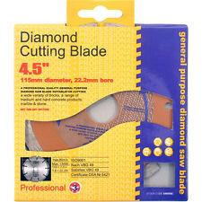 "115mm 4.5"" Diamond Cutting Brick Block Concrete Disc Blade DeWalt Makita Bosch"
