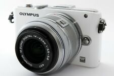 Olympus PEN E-PL3 12.3MP 14-42mm Lens Set White [Exc w/8GB SD Card [636]