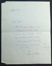 Jean COCTEAU autographe / Oratorio PATMOS #4