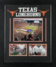 Texas Longhorns 19.5x 23.5 Custom Framed College Football Stadium Display Piece