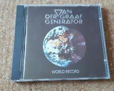 Van Der Graaf Generator  - World Record 1988 Virgin Charisma CASCD 1120 Nimbus