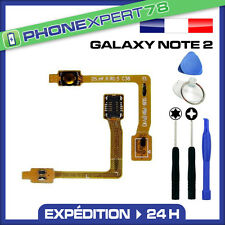 NAPPE BOUTON POWER ALLUMAGE ON / OFF pour SAMSUNG GALAXY NOTE 2 + OUTILS