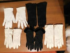 Lot Vintage Ladies Gloves Dress Up