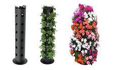 Flower Tower Planter 3-Feet Freestanding Cascade Nursery Deck Patio Gazebo Tube