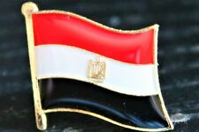 EGYPT Egyptian Country Metal Flag Lapel Pin Badge *NEW*