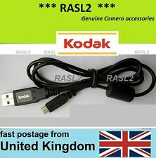 for Kodak PlayTouch Zi10 Video Camera Gold Plated Onyx 5 Ft USB Cable