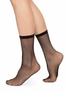 3 Pack Oroblu Fishnet Regular socks knitted in premium recyled yarn soft border