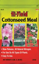 Hi-Yield Cottonseed Meal 3 lb natural 6-1-1 fertilizer garden food