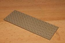 Lego 3027, 1x Platten Plättchen Bauplatte 6x16 plate dunkeltan beige