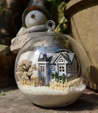 DIY  Miniature Dollhouse in Mini Glass Ball w/4 led light, B-004 Angel's  Magic