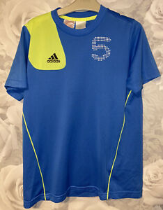 Boys Age 11-12 Years - Sports T Shirt From Adidas