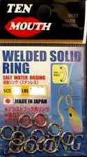 WELDED SOLID RING SIZE 6 TEN MOUTH 368 LB ARTIFICIALI VERTICAL JIG JIGGING PESCA