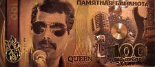 Queen Freddie Mercury Gold- plated Banknote