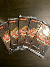 5x Yugioh Tournament Pack 5 Booster Pack Sealed and Unsearched