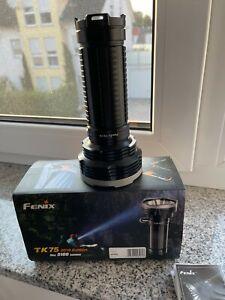 FENIX TK 75 5100 LUMEN LED TASCHENLAMPE LICHTHAMMER 850 METER LEUCHTWEITE LED